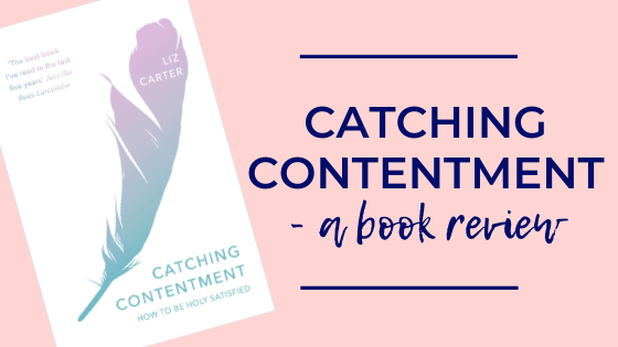 Excellent Christian book about finding contentment through life's hard places, suffering and imperfections. Liz Carter, IVP, 2018.