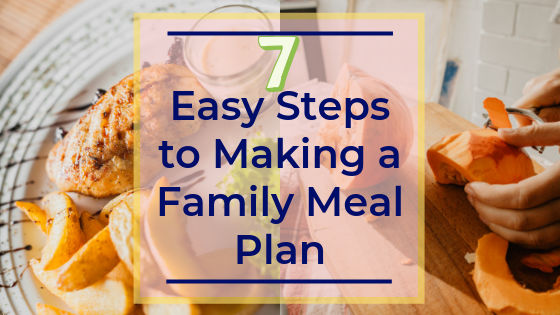 easy meal plan, family, recipes, meal planning, how to