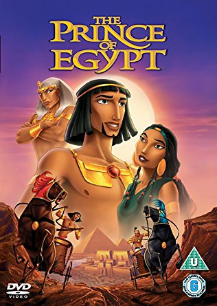 creative lent ideas for families, the prince of egypt, film, movie, dvd, moses, easter, lent, passover