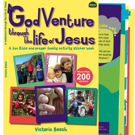 godventure, life of jesus, victoria beech, creative lent ideas for families