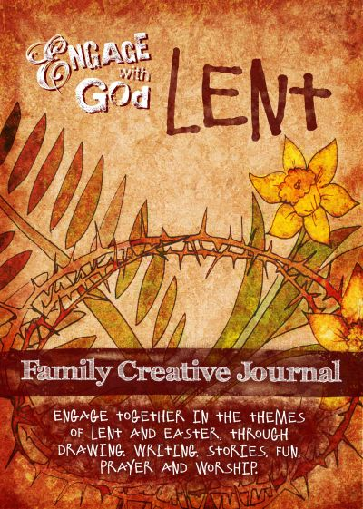 creative lent ideas for families, engage with god, engage worship, family creative journal, lent devotional