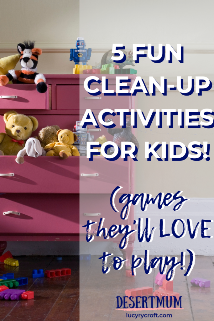These clever, simple clean up games will make tidying fun for your kids, teaching them valuable life skills and saving you time! #parenting #tidyup #cleanup #games #lifeskills