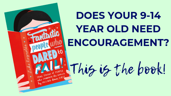 This inspirational book, aimed at 9-14 year olds, encourages kids and teens to believe in themselves, even when facing huge obstacles.
