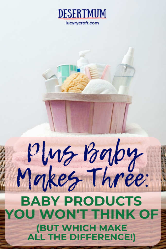 The most helpful baby products that you won't actually realise you need until baby comes along!
