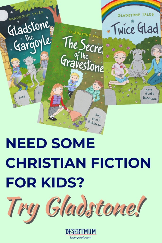 Looking for some Christian fiction for your 4th grader or 5th grader? The Gladstone Tales hit the spot!