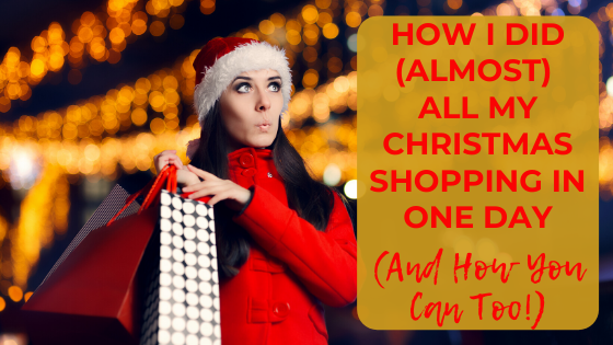 How can I make Christmas shopping less stressful? These Christmas shopping tips will help you get organized for Christmas, showing you how to shop for Christmas with tricks to make the season stress free.