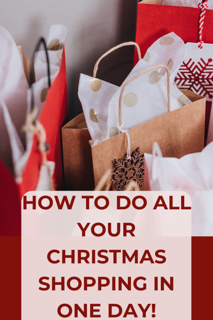 How to shop for Christmas - these Christmas shopping tips will show you how to get organized for Christmas, whether you're after a stress free Christmas or some last minute Christmas shopping tips.