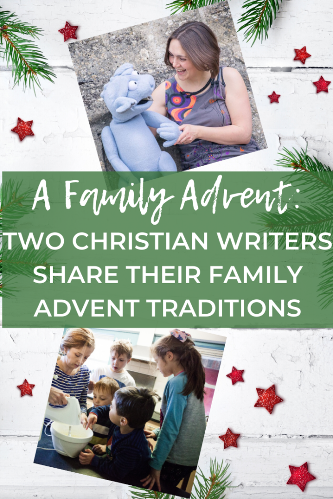 Family Advent ideas and Advent activities from two Christian writer mamas. What can we do during Advent? What do others do in the lead up to Christmas? Lots of Advent activities for kids right here!