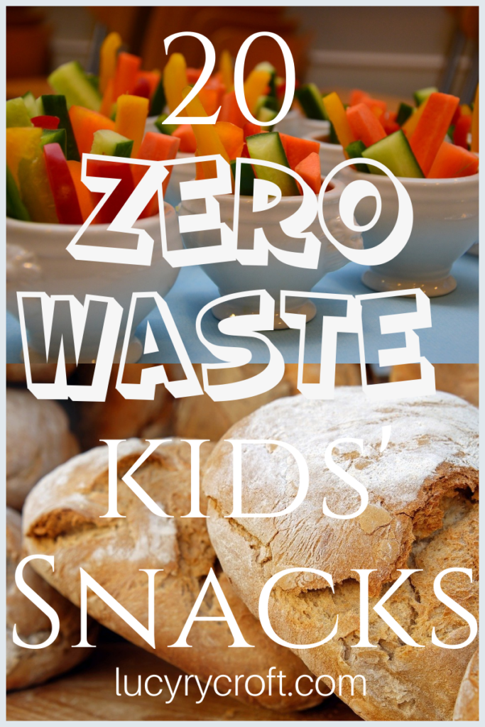 20 plastic free snack ideas for children. Zero waste snacks to go - quick, easy, convenient!